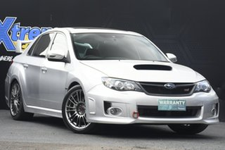 2011 Subaru Impreza G3 MY11 WRX STi AWD Spec R Silver 6 Speed Manual Sedan.