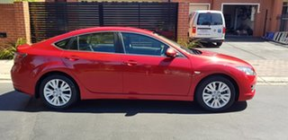 2008 Mazda 6 GH Classic Red 6 Speed Manual Sedan.