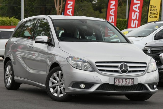 Used Mercedes-Benz B-Class W246 B180 BlueEFFICIENCY DCT Aspley, 2012 Mercedes-Benz B-Class W246 B180 BlueEFFICIENCY DCT 7 Speed Sports Automatic Dual Clutch