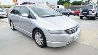 2005 Honda Odyssey 3rd Gen Luxury Silver 5 Speed Sports Automatic Wagon.