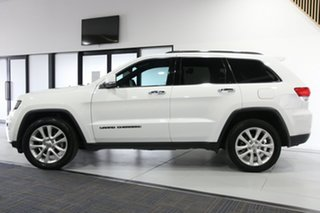 2017 Jeep Grand Cherokee WK MY18 Limited (4x4) White 8 Speed Automatic Wagon