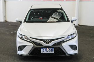 2018 Toyota Camry ASV70R Ascent Sport Frosted White 6 Speed Sports Automatic Sedan