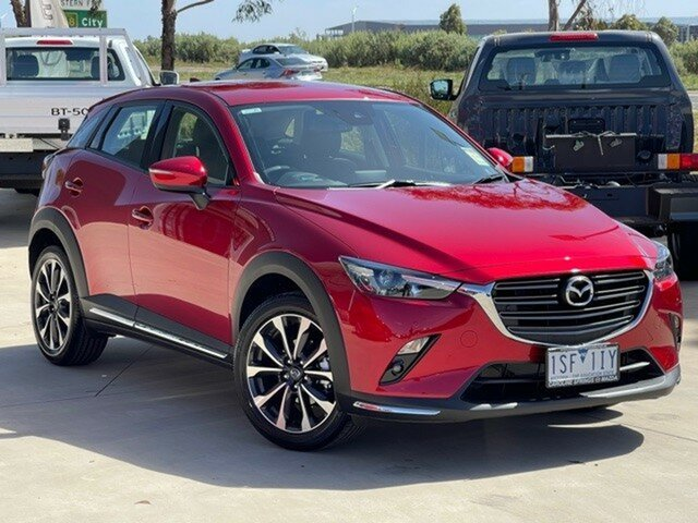 Demo Mazda CX-3 DK2W7A sTouring SKYACTIV-Drive FWD Ravenhall, 2020 Mazda CX-3 DK2W7A sTouring SKYACTIV-Drive FWD 6 Speed Sports Automatic Wagon