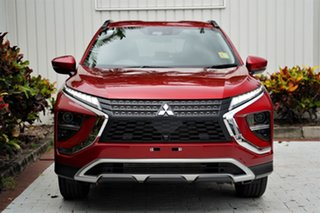 2020 Mitsubishi Eclipse Cross YB MY21 LS 2WD Brilliant Red 8 Speed Constant Variable Wagon.