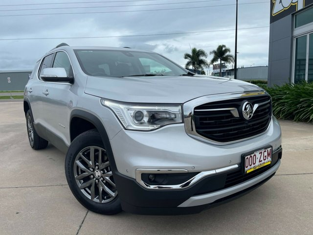 Used Holden Acadia AC MY19 LTZ-V 2WD Townsville, 2019 Holden Acadia AC MY19 LTZ-V 2WD Silver 9 Speed Sports Automatic Wagon