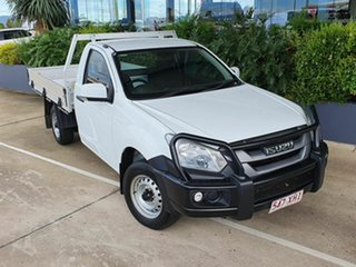 2017 Isuzu D-MAX SX White 6 Speed Manual Utility