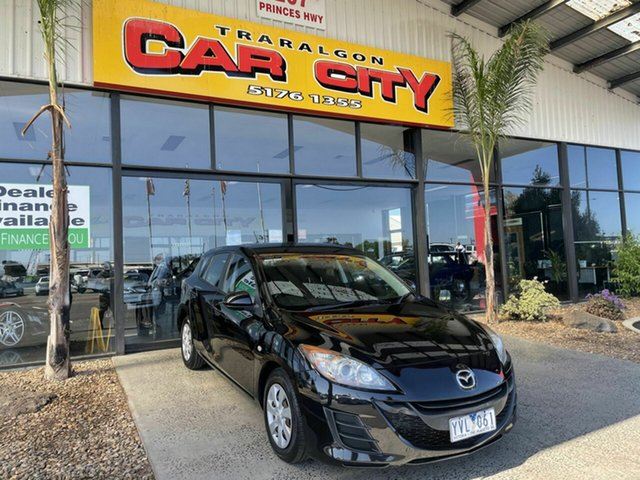 Used Mazda 3 BL 10 Upgrade Neo Traralgon, 2011 Mazda 3 BL 10 Upgrade Neo Black 5 Speed Automatic Hatchback