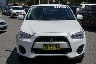 2013 Mitsubishi ASX XB MY13 White 6 Speed Sports Automatic Wagon.