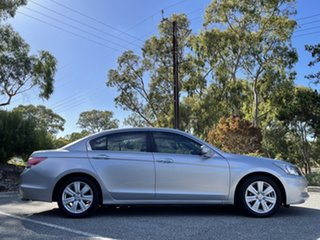 2012 Honda Accord 8th Gen MY12 V6 Luxury Silver 5 Speed Sports Automatic Sedan.