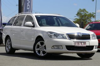 2012 Skoda Octavia 1Z MY13 90TSI DSG Special Edition Candy White 7 Speed.
