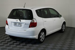 2007 Honda Jazz GD VTi White 7 Speed Constant Variable Hatchback
