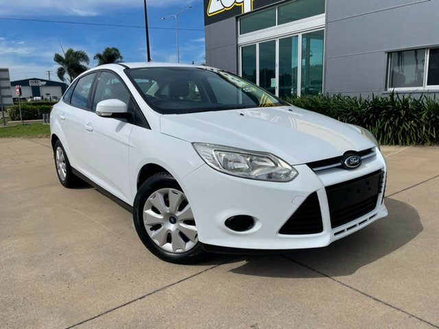 Used Ford Focus LW MkII MY14 Ambiente PwrShift Townsville, 2015 Ford Focus LW MkII MY14 Ambiente PwrShift White 6 Speed Sports Automatic Dual Clutch Sedan