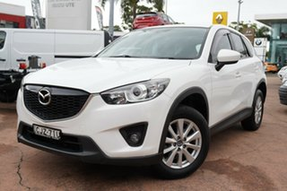 2012 Mazda CX-5 Maxx (4x4) White 6 Speed Automatic Wagon.