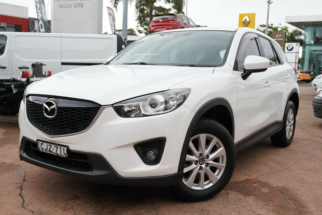 Used Mazda CX-5 Maxx (4x4) Brookvale, 2012 Mazda CX-5 Maxx (4x4) White 6 Speed Automatic Wagon