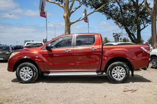 2011 Mazda BT-50 UP0YF1 XTR Red 6 Speed Manual Utility