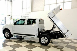 2015 Holden Colorado RG MY16 LS (4x2) White 6 Speed Automatic Crew Cab Chassis.