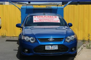 2014 Ford Falcon FG MkII XR6 Ute Super Cab EcoLPi Blue 6 Speed Sports Automatic Utility