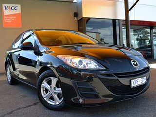 2009 Mazda 3 BL10F1 Neo Black 6 Speed Manual Sedan.