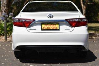 2017 Toyota Camry ASV50R Altise White 6 Speed Sports Automatic Sedan