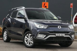2018 Ssangyong Tivoli XLV X100 ELX 2WD Blue 6 Speed Sports Automatic Wagon