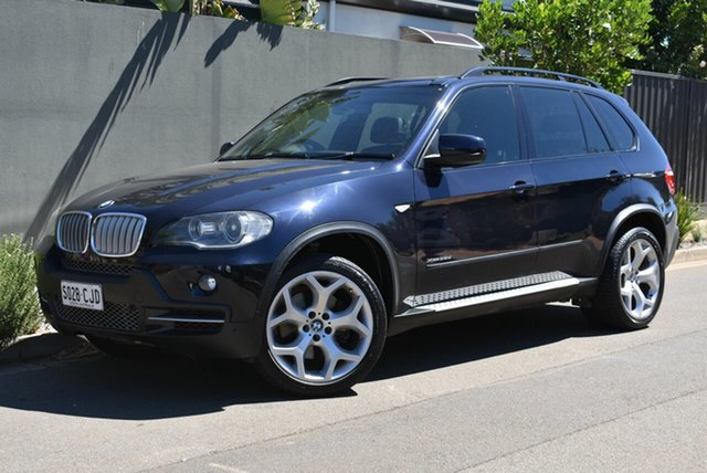 Used BMW X5 E70 MY09 xDrive35d Steptronic Brighton, 2009 BMW X5 E70 MY09 xDrive35d Steptronic Blue 6 Speed Sports Automatic Wagon
