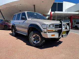 1990 Toyota Landcruiser GXL (4x4) 5 Speed Manual 4x4 Wagon.
