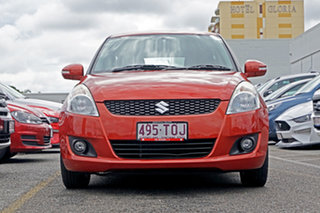 2013 Suzuki Swift FZ GLX Orange 5 Speed Manual Hatchback.