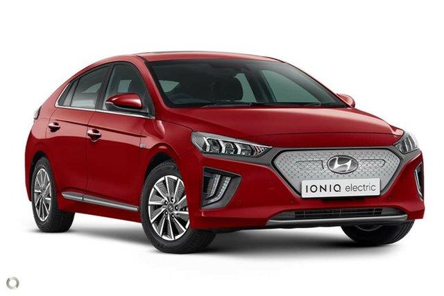 New Hyundai Ioniq AE.3 MY20 electric Premium Nailsworth, 2020 Hyundai Ioniq AE.3 MY20 electric Premium Fiery Red 1 Speed Reduction Gear Fastback