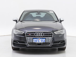 2016 Audi S3 8V MY16 2.0 TFSI Quattro Black 6 Speed Direct Shift Sedan.
