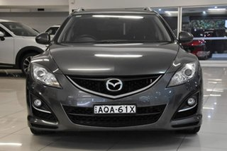 2011 Mazda 6 GH1052 MY10 Touring Grey 5 Speed Sports Automatic Wagon