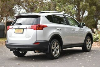 2015 Toyota RAV4 ZSA42R MY14 GXL 2WD Silver 7 Speed Constant Variable Wagon