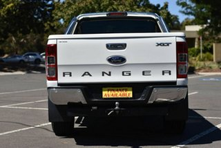 2012 Ford Ranger PX XLT Super Cab 4x2 Hi-Rider White 6 Speed Sports Automatic Utility