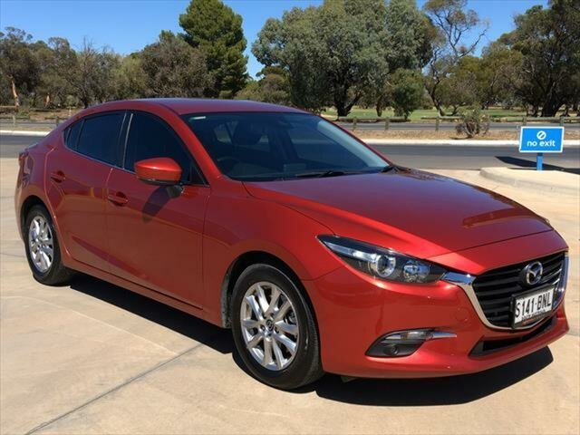 Used Mazda 3 BN5278 Maxx SKYACTIV-Drive Berri, 2016 Mazda 3 BN5278 Maxx SKYACTIV-Drive Soul Red 6 Speed Sports Automatic Sedan