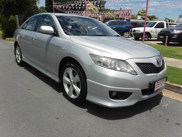 Used Toyota Camry ACV40R Sportivo Margate, 2010 Toyota Camry ACV40R Sportivo Silver 5 Speed Automatic Sedan