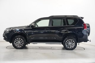 2018 Toyota Landcruiser Prado GDJ150R Kakadu Black 6 Speed Sports Automatic Wagon.