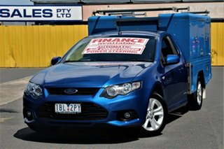 2014 Ford Falcon FG MkII XR6 Ute Super Cab EcoLPi Blue 6 Speed Sports Automatic Utility.