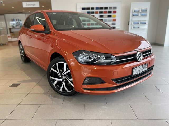 Demo Volkswagen Polo AW MY20 85TSI DSG Style Liverpool, 2020 Volkswagen Polo AW MY20 85TSI DSG Style 4m4m 7 Speed Sports Automatic Dual Clutch Hatchback
