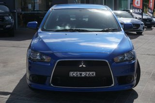2012 Mitsubishi Lancer CJ MY12 Activ Blue 5 Speed Manual Sedan.