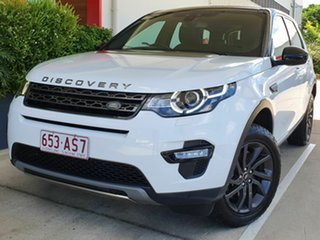 2017 Land Rover Discovery Sport SE White 6 Speed Automatic Wagon