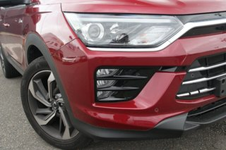 2019 Ssangyong Korando C300 MY20 Ultimate 2WD Red 6 Speed Sports Automatic Wagon.