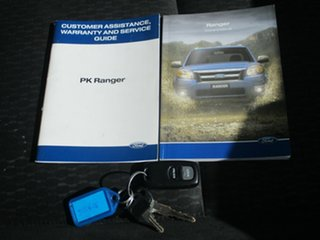 2010 Ford Ranger PK XLT (4x4) Blue 5 Speed Manual Dual Cab Pick-up