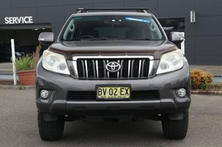 2010 Toyota Landcruiser Prado GRJ150R GXL Grey 5 Speed Sports Automatic Wagon
