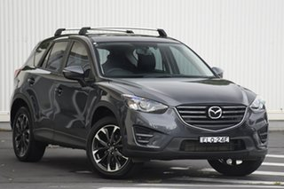 2016 Mazda CX-5 KE1022 Grand Touring SKYACTIV-Drive i-ACTIV AWD Grey 6 Speed Sports Automatic Wagon.