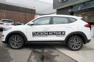 2020 Hyundai Tucson ACTIVE X Pure White 6 Speed Automatic SUV
