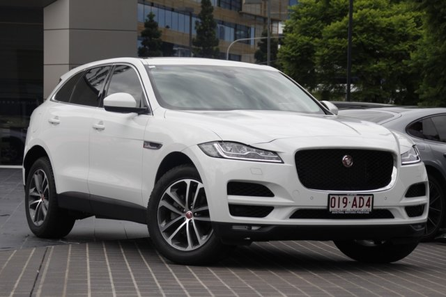 Used Jaguar F-PACE X761 MY18 Portfolio Newstead, 2017 Jaguar F-PACE X761 MY18 Portfolio White 8 Speed Sports Automatic Wagon