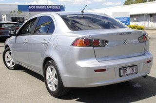 2013 Mitsubishi Lancer CJ MY14 ES Cool Silver 6 Speed Constant Variable Sedan.