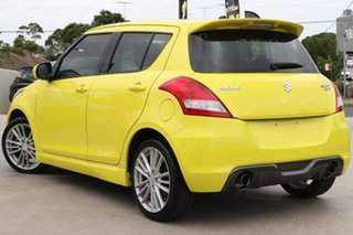 2013 Suzuki Swift FZ Sport Yellow 7 Speed Constant Variable Hatchback.
