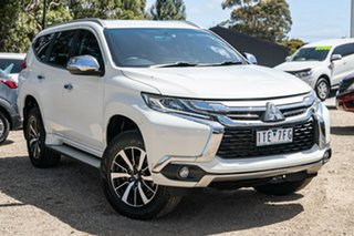 2016 Mitsubishi Pajero Sport QE MY17 GLX White 8 Speed Sports Automatic Wagon