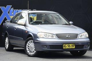2004 Nissan Pulsar N16 MY2004 Q Blue 5 Speed Manual Sedan.