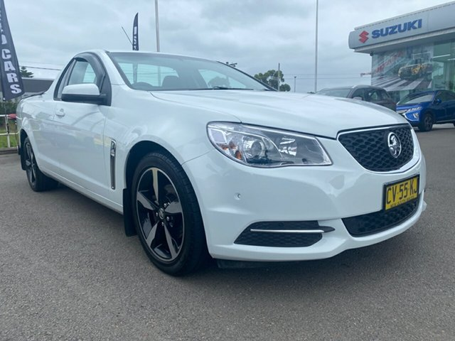Used Holden Ute VF II MY17 Ute Cardiff, 2017 Holden Ute VF II MY17 Ute White 6 Speed Sports Automatic Utility